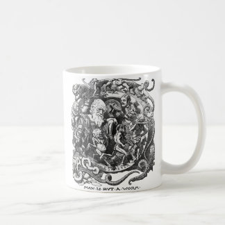 Man Is But A Worm Coffee Mug
