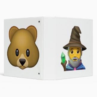 Man Mage - Emoji 3 Ring Binder
