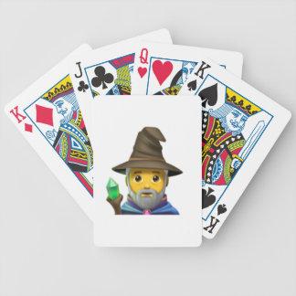 Man Mage - Emoji Bicycle Playing Cards