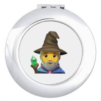Man Mage - Emoji Compact Mirrors