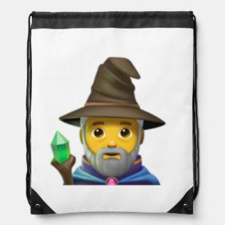 Man Mage - Emoji Drawstring Bag
