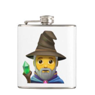 Man Mage - Emoji Hip Flask