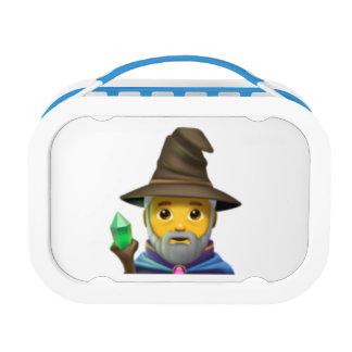 Man Mage - Emoji Lunch Box