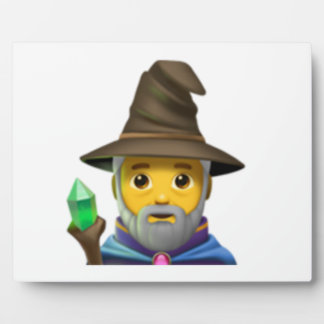 Man Mage - Emoji Plaque