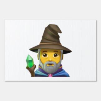 Man Mage - Emoji Sign