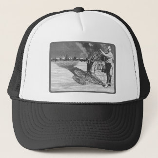 Man Meets Bicycle Trucker Hat