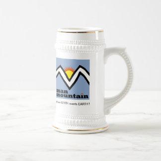 Man Mountain Stein! Beer Stein