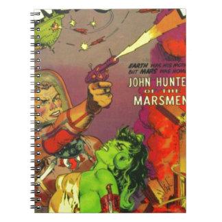 Man O' Mars Note Book