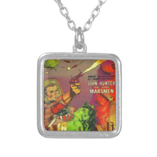 Man O' Mars Silver Plated Necklace