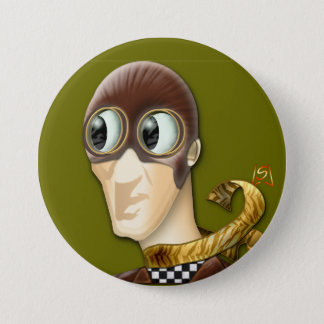 Man Of Action (pin) 3 Inch Round Button