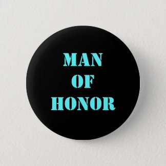 Man of Honor 2 Inch Round Button