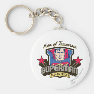 Man of Tomorrow Keychain