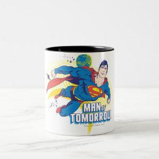 Man of Tomorrow Two-Tone Coffee Mug