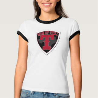 MAN OF TRILL for the WOMAN OF STEEL -Ringer T T-shirt