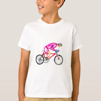 Man on Bicycle Sketch T-Shirt