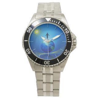 Man on Globe Watches