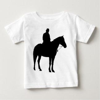 Man On Horseback Silhouette Baby T-Shirt
