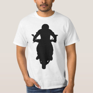 Man On Motorcycle Silhouette T-Shirt
