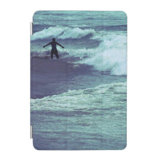 Man on Sea Waves iPad Mini Cover