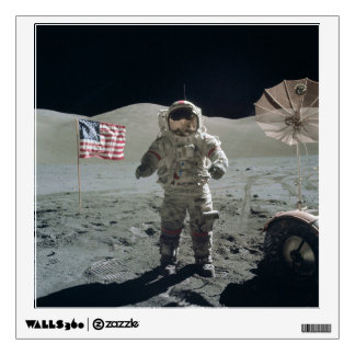 Man on the Moon Wall Decal