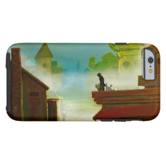MAN ON VERANDA by Slipperywindow Tough iPhone 6 Case