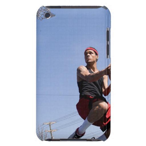 Man Playing Basketball iPod Touch Cover