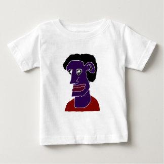 Man Portrait Caricature Baby T-Shirt