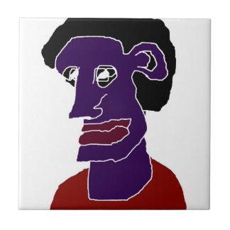 Man Portrait Caricature Tiles