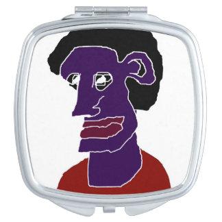 Man Portrait Caricature Travel Mirrors