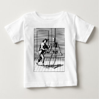 Man Proposing to a Skeleton Baby T-Shirt