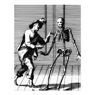 Man Proposing to a Skeleton Letterhead