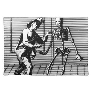 Man Proposing to a Skeleton Placemat