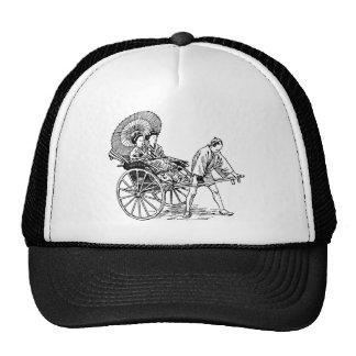 Man Pulls Women Trucker Hat