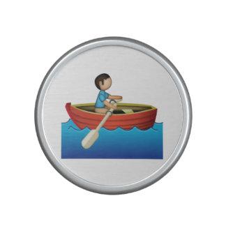 Man Rowing - Emoji Bluetooth Speaker