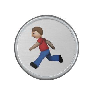 Man Running - Emoji Bluetooth Speaker