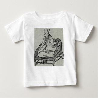 Man sitting in Meditation Pose Baby T-Shirt