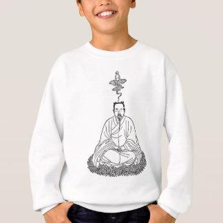 Man Sitting in Meditation Pose Sweatshirt