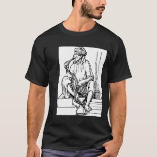 Man Smoking Hookah T-Shirt