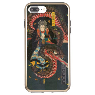 Man Summons Snake- Japanese Woodblock Print Incipio DualPro Shine iPhone 7 Plus Case