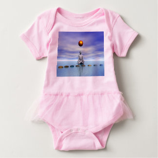 man sun and steps planets baby bodysuit