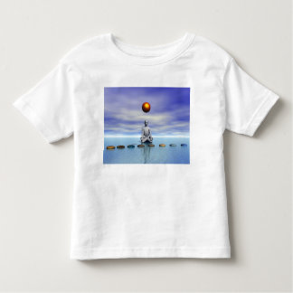 man sun and steps planets toddler t-shirt