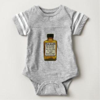 Man Up Pills Baby Bodysuit
