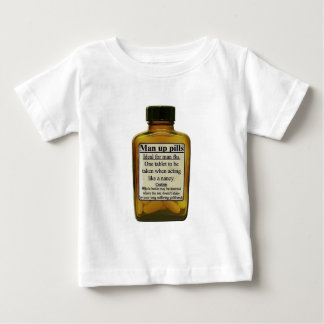 Man Up Pills Baby T-Shirt