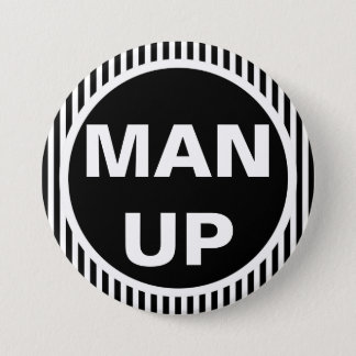 Man Up Round Button