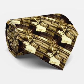 Man Viewing Stereoview Cards Vintage Tie