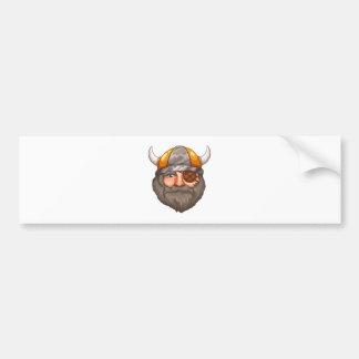 Man Viking Bumper Sticker