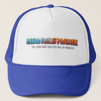 MAN VS SNAKE Trucker Hat