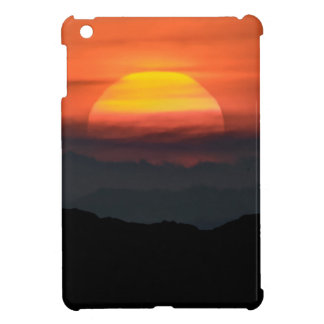 Man Walking at Mountains Landscape Illustration Case For The iPad Mini