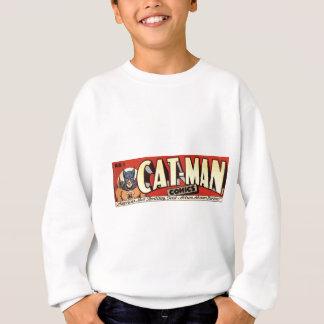 Man who Fancies Cats Banner Sweatshirt