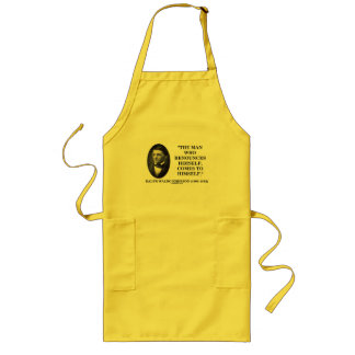 Man Who Renounces Himself Comes To Himself Emerson Long Apron